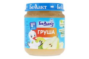 Пюре для дітей від 4міс Груша Беллакт с/б 100г
