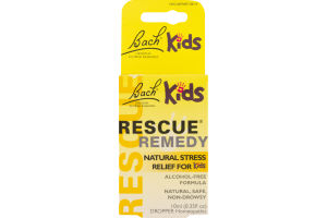 Bach Kids Rescue Remedy Natural Stress Relief for Kid Dropper