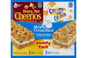 General Mills Milk 'n Cereal Bars Variety Pack - 6 CT
