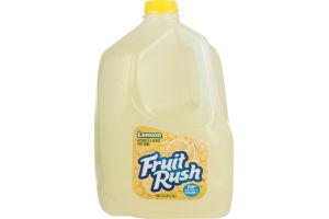 Fruit Rush Naturally Flavored Fruit Drink Lemon