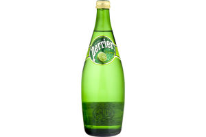 Perrier Sparkling Natural Mineral Water Lime