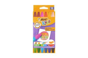 Пастель для розфарбовування A'L'Huile Kids BIC к/у 12шт