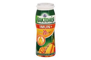 Напій кисломолочний 1.5% Мультифрукт Imun+ Лактонія п/пл 100г
