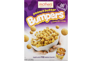 Mother's Bumpers Crunch Corn Cereal Peanut Butter