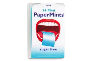 Пластинки ментолові PaperMints п/у 1г