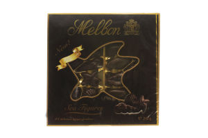 Конфеты шоколадные с ореховым пралине Темные Морские фигурки Melbon к/у 250г