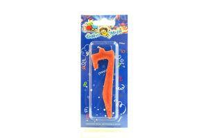 """Свічка Свято мрій нумерична цифра 7"""""""""""