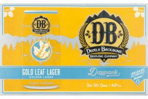 Devils Backbone Brewing Company Gold Leaf Lager - 6 PK