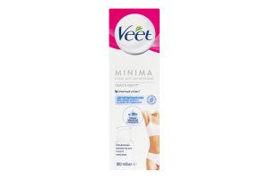 Крем для депіляції для чутливої шкіри Minima Veet 100мл