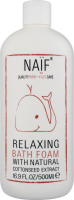 Пена для ванны расслабляющая Naif 500мл