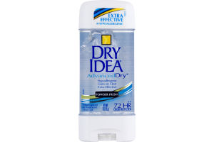 Dry Idea Antiperspirant & Deodorant Gel Advanced Dry Powder Fresh