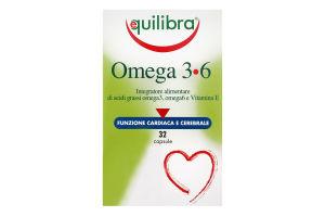 Добавка диетическая Equilibra Omega 3•6