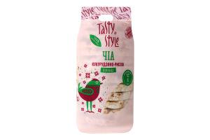 Хлібці кукурудзяно-рисові з чіа Tasty Style м/у 100г