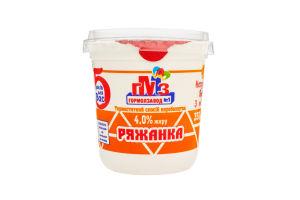 Ряженка 4% Гормолзавод №1 ст 350г