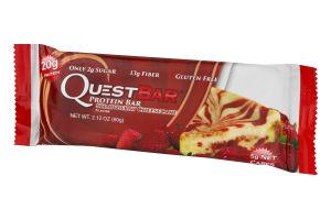QuestBar Protein Bar Strawberry Cheesecake