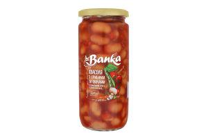 Квасоля з грибами і овочами в томатному соусі стерилізована the Banka с/б 500г