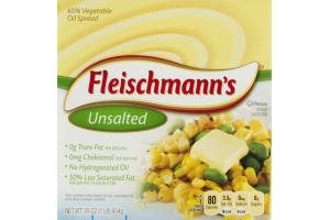 Fleischmann's Vegetable Oil Spread Unsalted