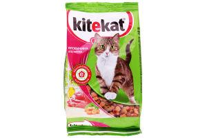 Корм сухой для взрослых котов Говядина аппетитная Kitekat м/у 400г