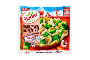 Овочі заморожені для смаження По-французьки Hortex м/у 400г