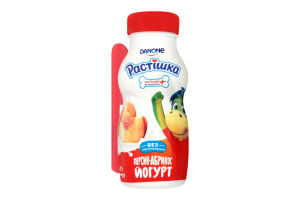 Йогурт 1.5% Персик-Абрикос Растішка п/бут 185г