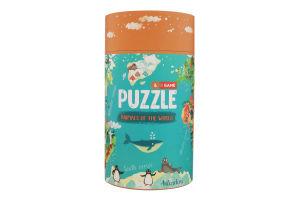 Пазл для дітей від 3років №200113 Тварини Світу Mon Puzzle 1шт