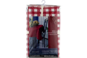 Royal Crest Color Trends Peva Flannelback Tablecloth Size 52 x 70