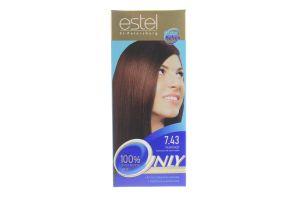Краска для волос Only Сolor №7.43 Estel