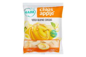Чіпси яблучні солодкі Chips Apple Gadz м/у 40г