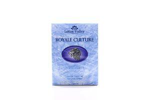 Туалетная вода мужская Royale Culture Lotus Valley 100мл