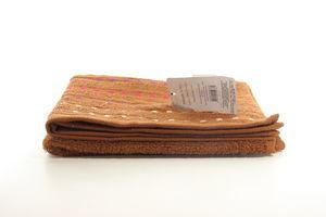 Полотенце махровое Мозаика шоколадный Zastelli 50*90см
