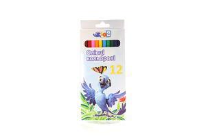 Набор карандашей Rio 12 цветов Cool for School к/у