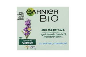 Крем для кожи вокруг глаз антивозрастной Regenerating lavandin Bio Garnier 50мл