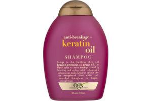 OGX Shampoo Anti-Breakage + Keratin Oil