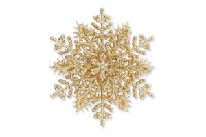 Украшение новогоднее Снежинка объемная 3Д Mislt 1шт