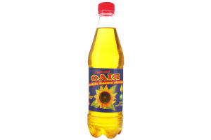 """Олія соняшникова """"Соняшки"""" домашня нерафінована"""