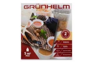 Весы кухонные прямоугольные 18х20см KES-1PTE Grunhelm 1шт