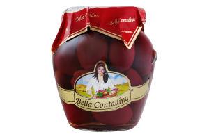 Оливки красные с косточкой Bella Contadina с/б 290г