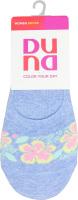 Шкарпетки-сліди жіночі Duna №891 23-25 джинс