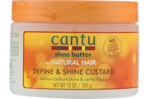 Cantu Shea Butter for Natural Hair Define & Shine Custard