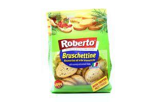 Сухарики с розмарином и травами Roberto м/у 100г