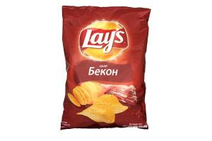 Чіпси зі смаком бекону Lays м/у 133г