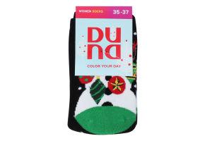 Шкарпетки жіночі Duna №3102 21-23 чорний