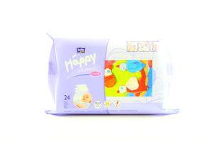 Салфетки влажные для детей Happy allantoin Bella м/у 24шт