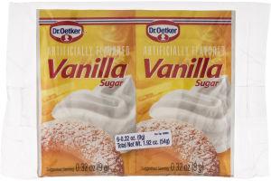 Dr. Oetker Vanilla Sugar - 6 CT