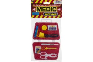 Ja-Ru Emergency Rescue Medic Med Bag - 9 CT
