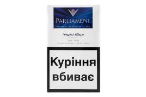 Сигареты с фильтром Night Blue Parliament 20шт