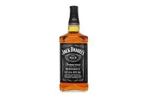 Виски 1л 40% Jack Daniel's бут