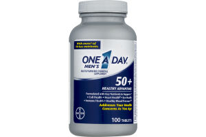 One A Day Men's 50+ Healthy Advantage - 100 CT