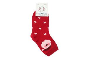 Шкарпетки жіночі Marca №42703 23-25 червоний