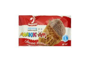 Мороженое Ласунка Малыш-Ам шоколадное вафельн стак